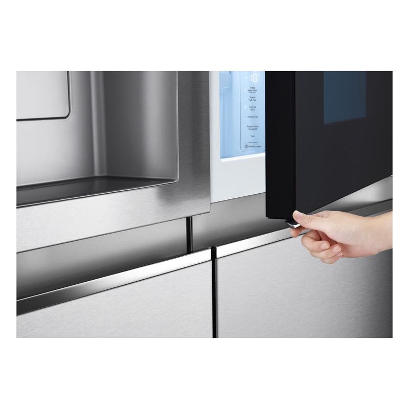LG presenta sus nuevos refrigeradores InstaView Door-in-Door 2021 - refrigador-instaview