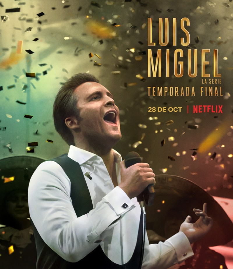 Netflix revela el tráiler de la tercera y última temporada de «Luis Miguel, La serie»