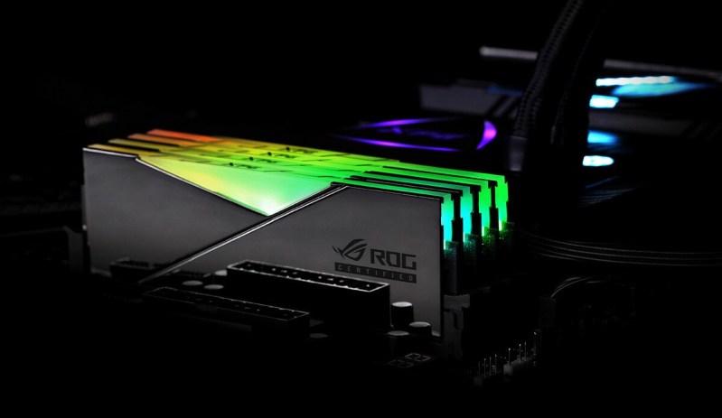Nuevas memorias SPECTRIX D50 certificadas por ASUS ROG de ADATA XPG