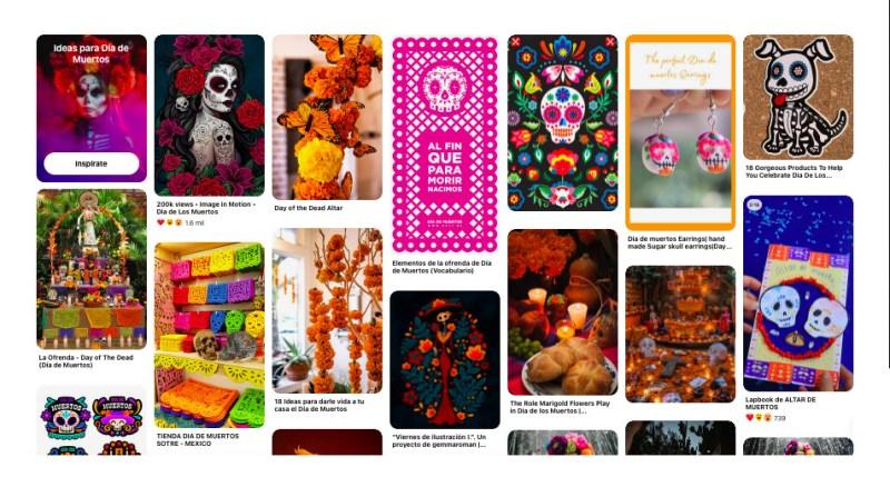 Las tendencias que se asoman para este Día de Muertos en Pinterest