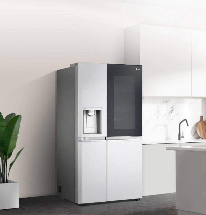 Nueva familia de refrigeradores LG InstaView Door-in-Door 2021 con características avanzadas