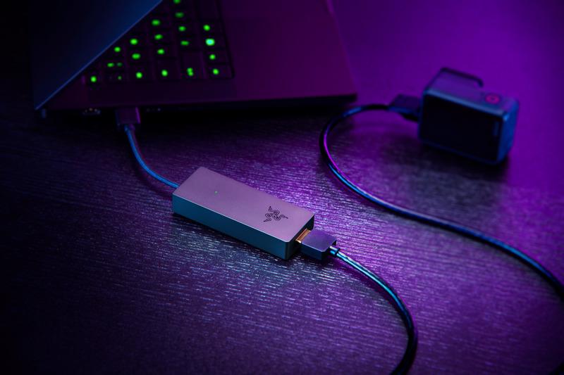 Línea de streaming Razer: webcam Kiyo X y tarjeta capturadora Ripsaw X - tarjeta-capturadora-razer-ripsaw-x-razer