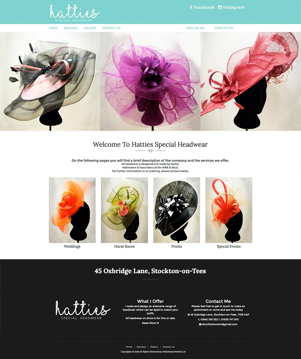 Hatties Special Headwear