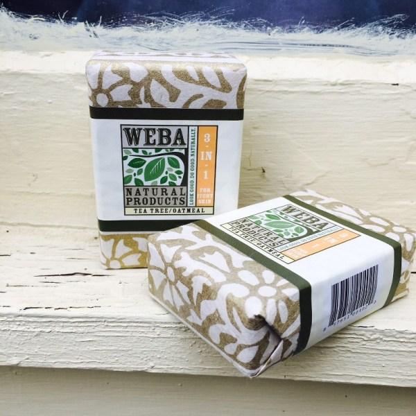 Heal Tea Tree Oatmeal 3 in 1 bar soap cruelty free