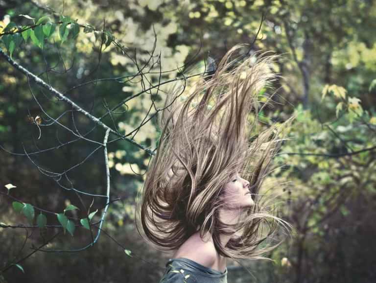 Luxurious healthy hair