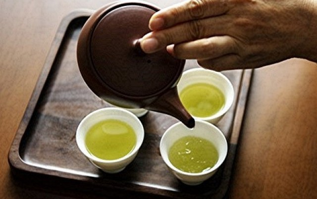 Green tea's polyphenols are great for skin