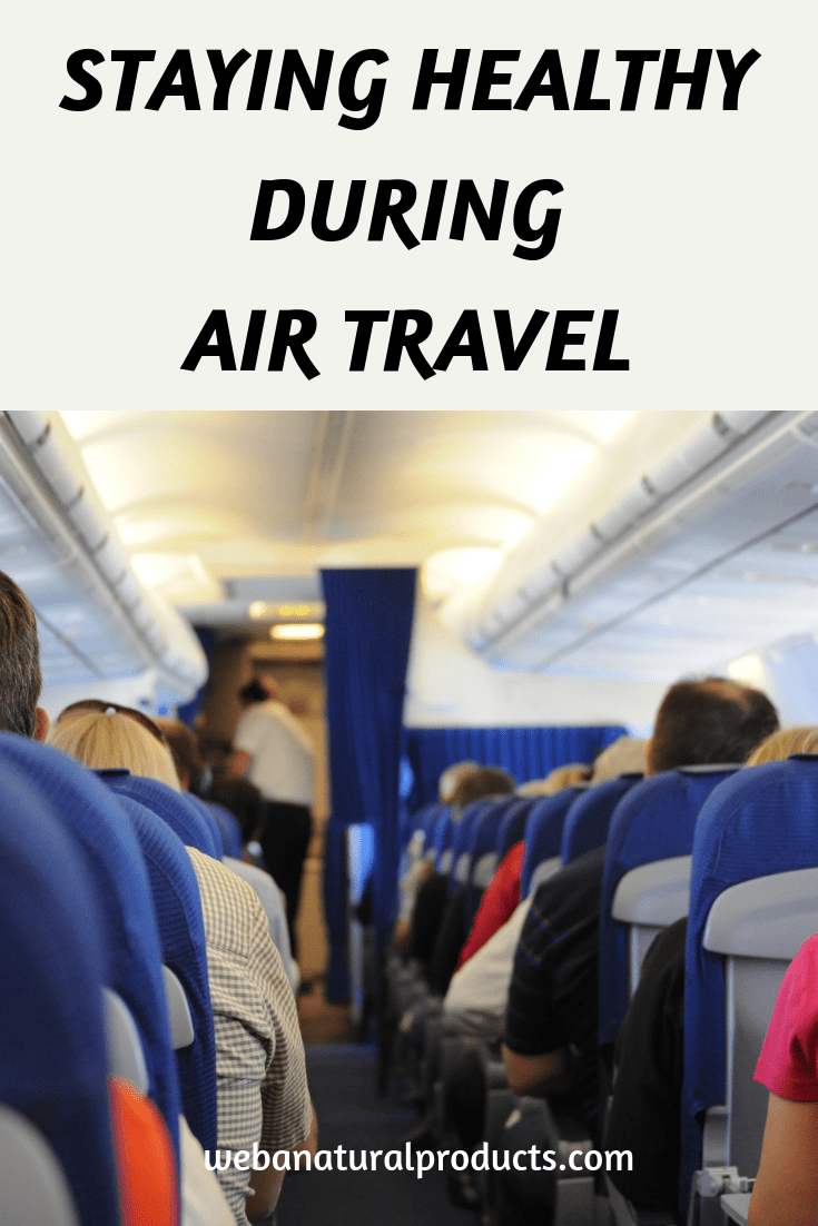 Staying Healthy During Air Travel Blog Post