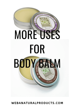 More Uses for Body Balm photo