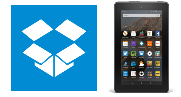 Install Dropbox in Amazon Fire tablets (Steps+Video)
