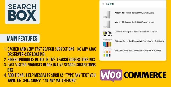 Best WooCommerce Search Plugin - Woo Search Box – Really Live Suggestions for WooCommerce