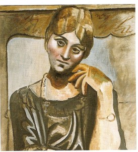 Picasso and Olga Khokhlova