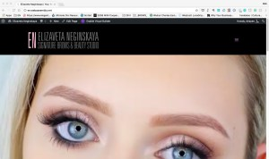 EN-Beauty.com, the website for upscale aesthetician Elizaveta Neginskayaʻs Honolulu salon.