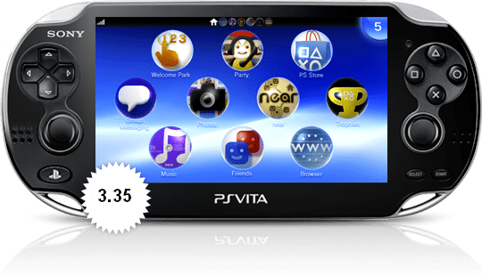 PS Vita System Software Update