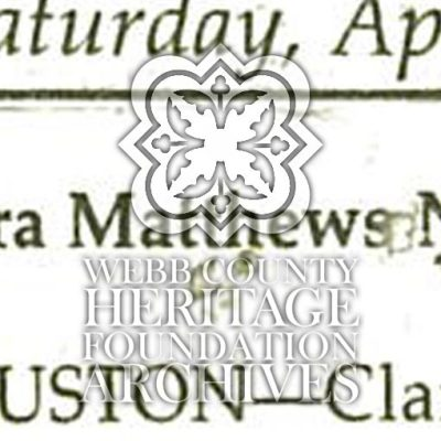 Obituary of Matthew Nesbitt, Clara