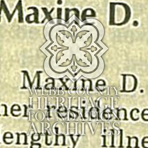 Obituary of Richter, Maxine D.