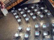 Klaar voor ontvangst van de deelnemers aan de themamiddag Mediacoach in de praktijk, hoe doe je dat? | WebbiebNL, haal meer uit je digitale bibliotheek
