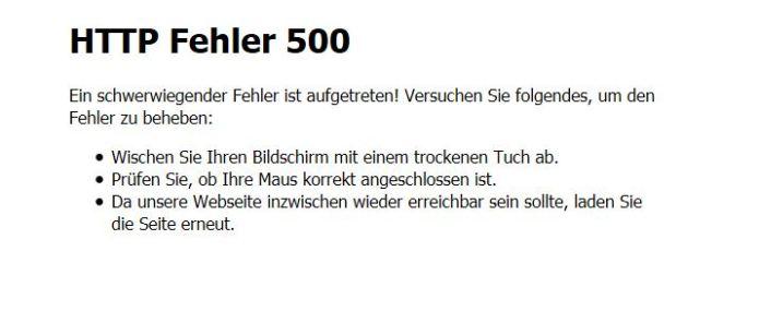 fehler500
