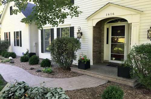 Webb Signature Concrete Custom Stamped Front Entry Residential