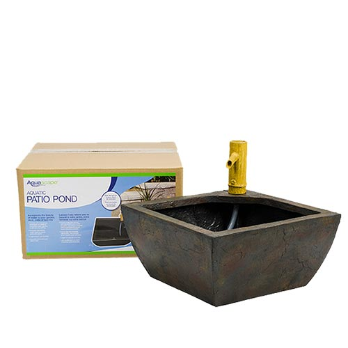 aquascape aquatic patio pond fountain kit mpn 78197