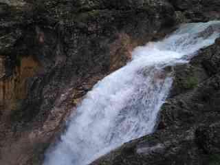 Wasserfall in der Gleirschklamm