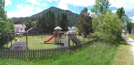 Spielplatz in Scharnitz