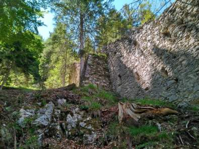 Mauer der Portaclaudia