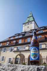 G7 Gipfelbier und Schloss Elmau