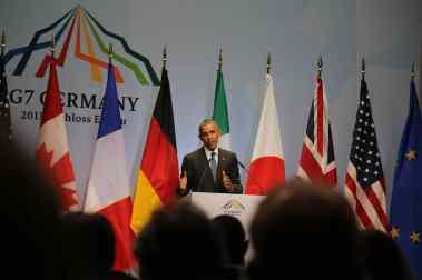 Abschluss PK Rede von US Präsident Obama