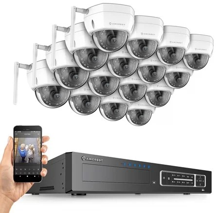 Amcrest 32 channel wifi system