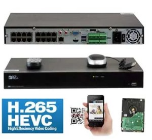 GW Security H265 32 Channel NVR System