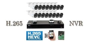 H265 32 channel NVR system