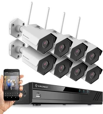 Amcrest 8 channel wireless security camera