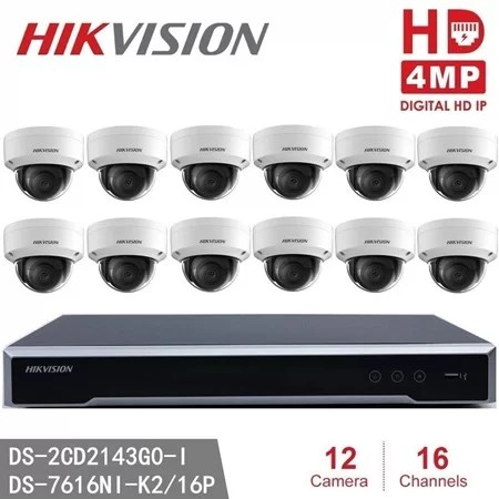 Hikvision 16 Channel Security Camera system