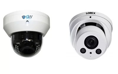 GW Security gw8571    vs Lorex lne8974