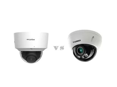 Laview vs Lorex dome cameras