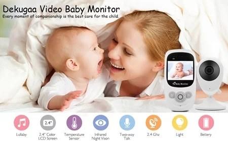 Dekugaa Baby Video Monitor