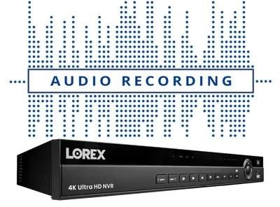 Lorex N881A38B-W NVR
