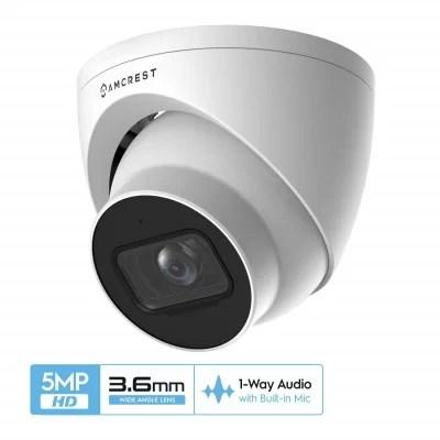 Amcrest ip5m-t1179ew 5MP turret camera