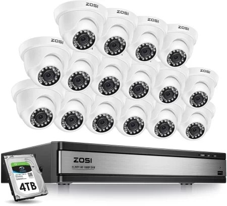 Zosi 16 channel 1080p Kit