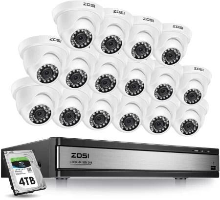 Zosi 16 channel 1080p Kit