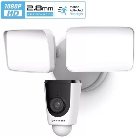 Amcrest ASH26 floodlight outdoor camera