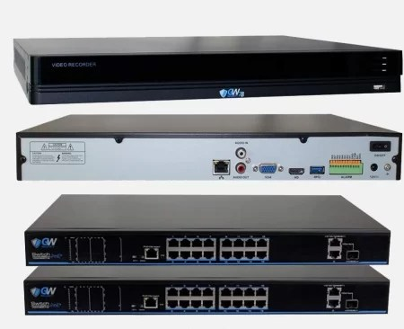 GW Security 32 channel with 2x POE switches