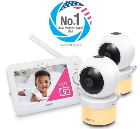 Vtech vm5463-2 baby video monitor