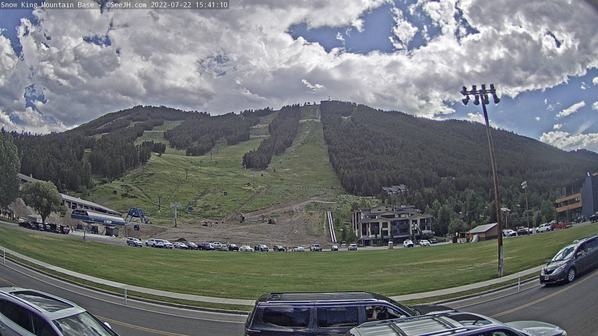 Snow King Resort Base Webcam Image
