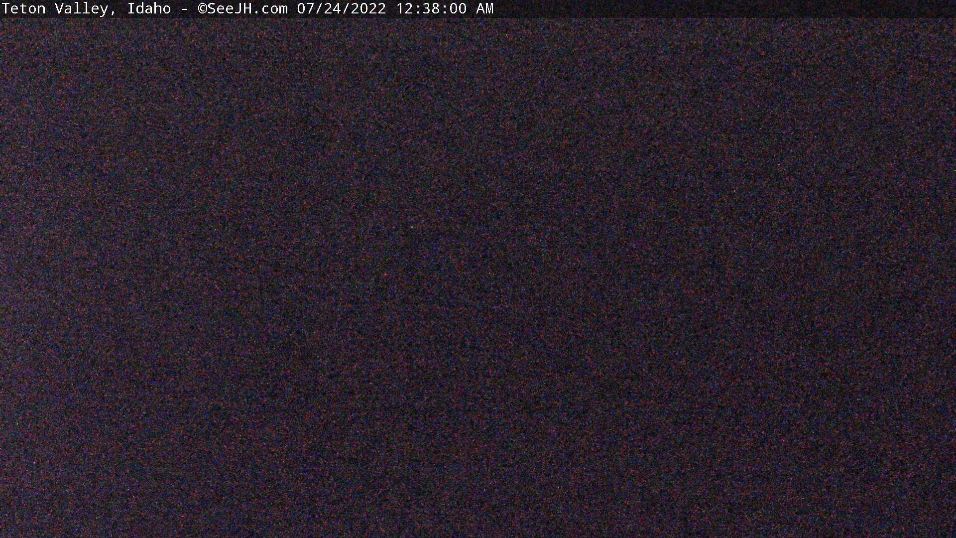 Grand Teton Webcam - Teton Valley, ID Image