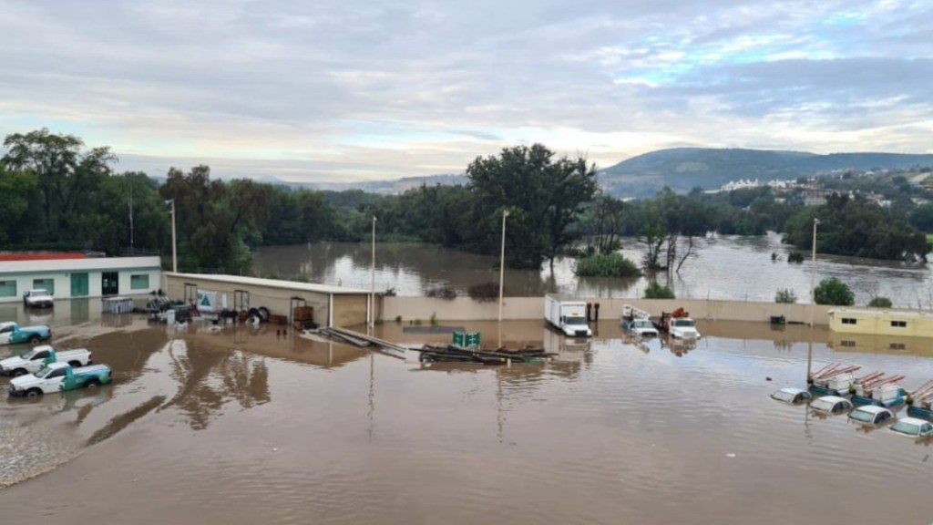 Intensas lluvias en Tula provocan muertes e inundaciones