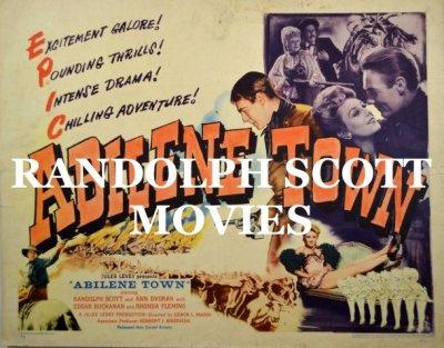 RANDOLPH SCOTT MOVIES