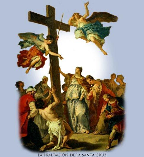 Resultado de imagen de Exaltación de la Santa Cruz