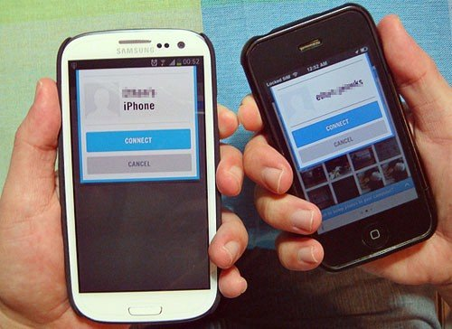 Galaxy s3 and iPhone 3gs