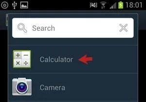 Calculator Option